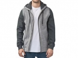 Globe Maverick Zip Hoodie Grey Heather (thumb #0)