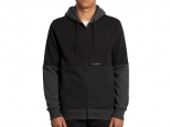 Volcom Single Stone Div Zip Hoodie Black (thumb #0)