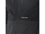 Volcom Single Stone Div Zip Hoodie Black (thumb #3)