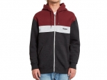 Volcom Single Stone Div Zip Hoodie Port