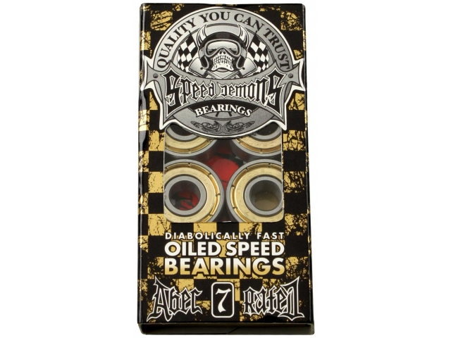 Rulmenti Skate Speed Demons Oiled Speed Abec 7