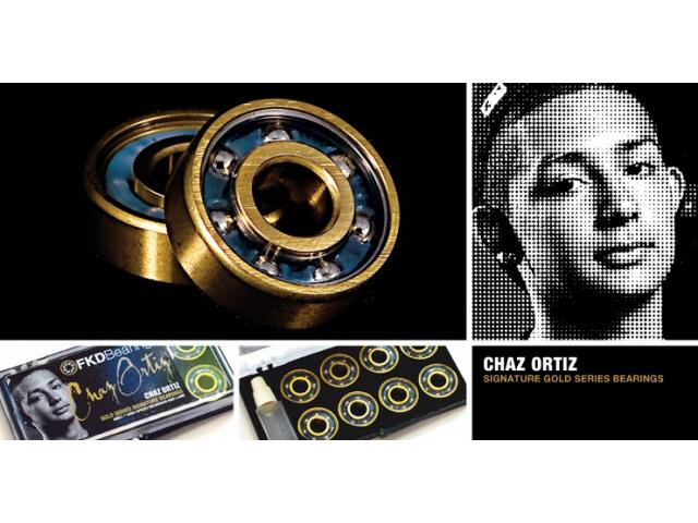 Rulmenti Skate Fkd Gold Series Chaz Ortiz Signature Abec7
