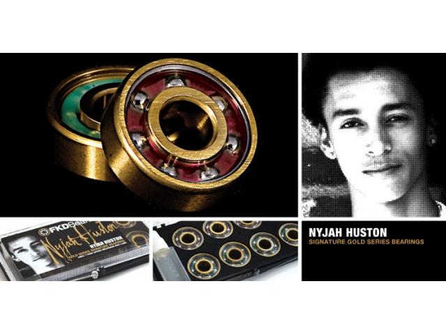 Rulmenti Skate Fkd Gold Series Nyjah Huston Signature Abec7