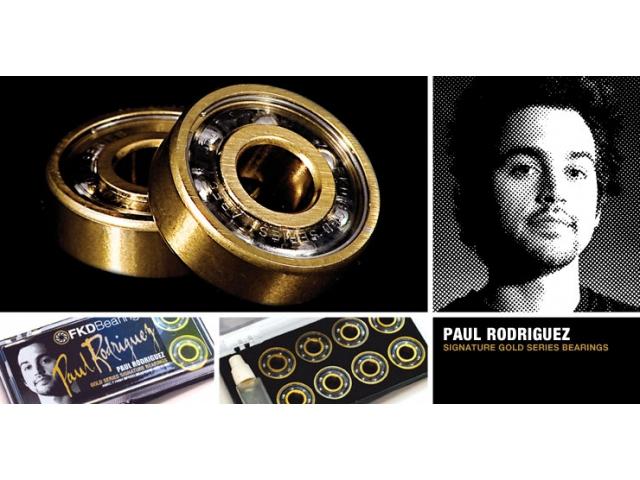 Rulmenti Skate Fkd Gold Series Paul Rodriguez Signature Abec7