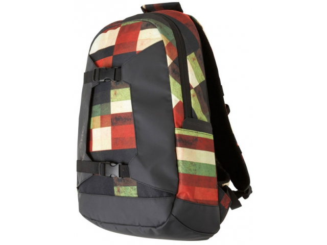 Rucsaci Snowboard Dc Sender Snowboard Backpack Red Multi Plaid