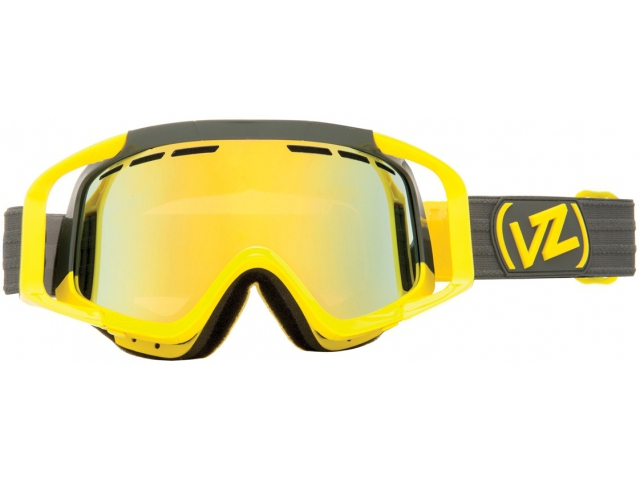 Goggles Von Zipper Porkchop Block Yellow Gloss/gold Chrome