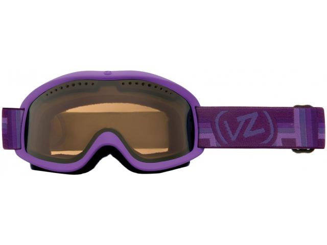 Goggles Von Zipper Sizzle Purple Satin/bronze