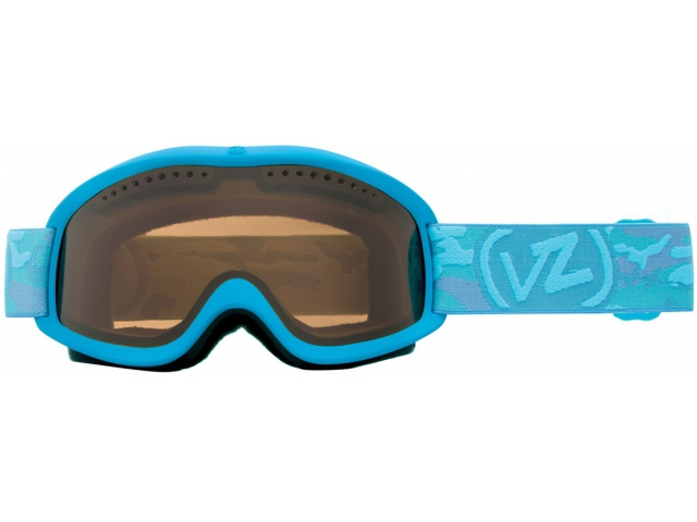 Goggles Von Zipper Sizzle Blue Satin/bronze