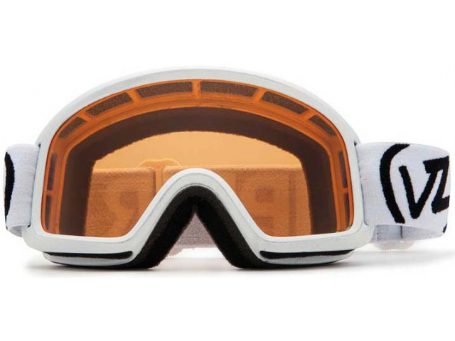 Goggles Von Zipper Trike White Gloss/bronze