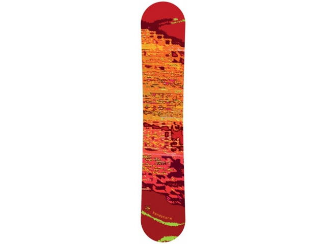Placa Snowboard Limited 4 You Sandstorm Red 150