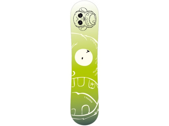 Placa Snowboard Limited 4 You Monkey Green 130
