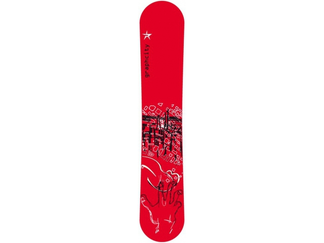 Placa Snowboard Limited 4 You Graphcity Red Wide 154