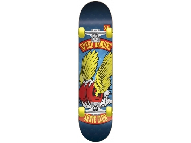 Skate Complet Speed Demons Skate Club Dragster 7.6
