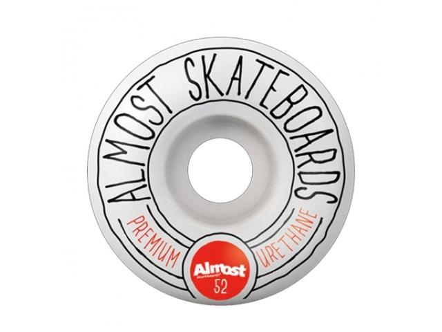 Roti Skate Almost Premo White 52mm