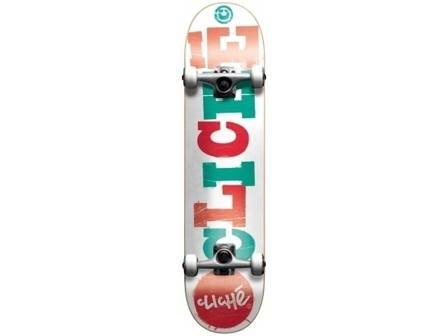 Skate Complet Cliche Wood Cut
