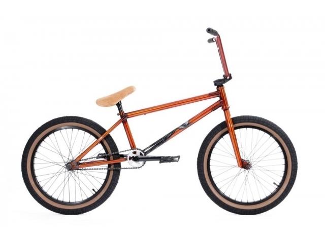 Bicicleta Bmx Stereo Bikes Wire 2014 Trans Orange