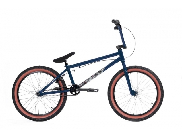 Bicicleta Bmx Stereo Bikes Speaker Plus 2014 Blue