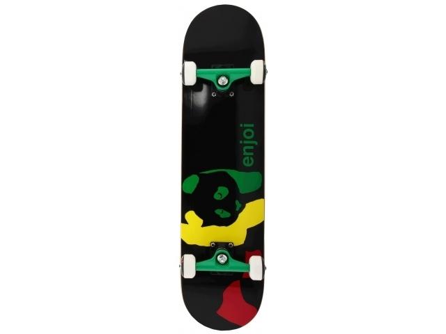 Skate Complet Enjoi Rasta Panda Black 8.0