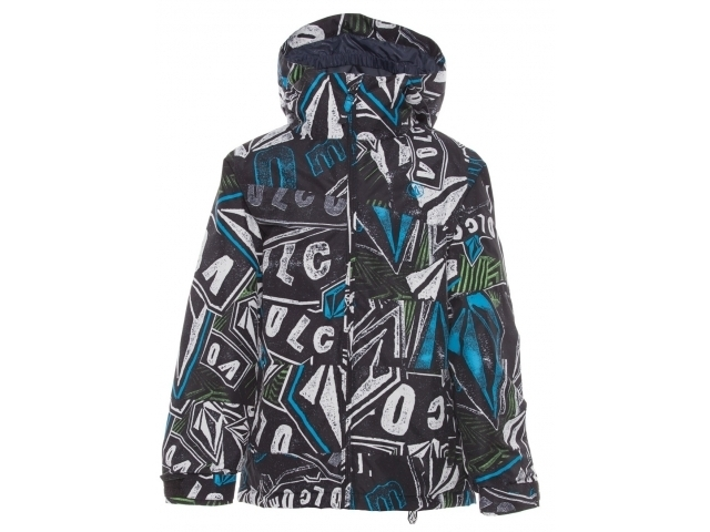 Geaca/jacheta Snowboard Volcom Youth Buckeye Ins Black/multi