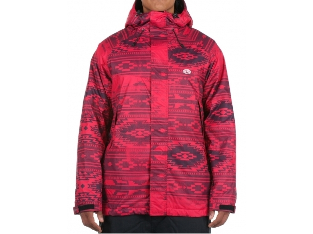 Geaca/jacheta Snowboard Animal Justice Red