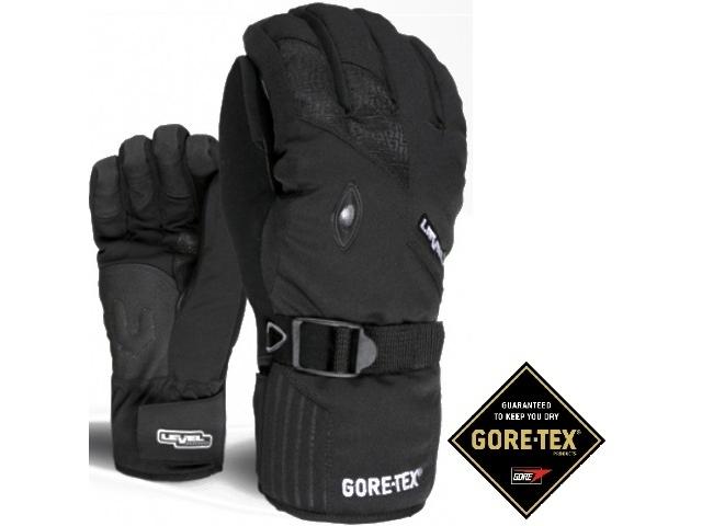 Manusi Snowboard Level Matrix Gore-tex Black