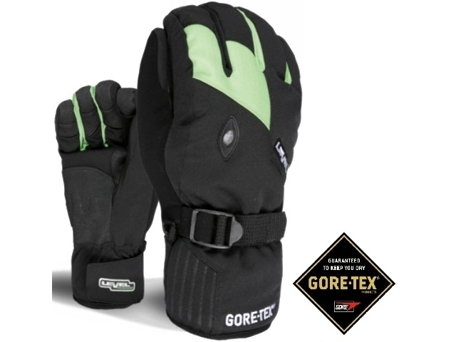 Manusi Snowboard Level Matrix Gore-tex Green