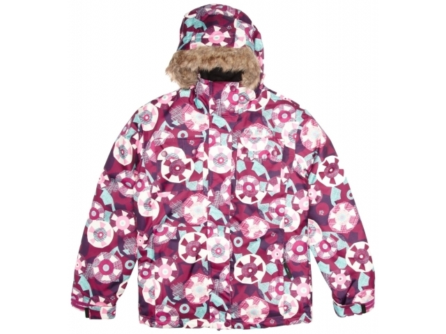 Geaca/jacheta Snowboard Animal Girls Talini Pink Plum