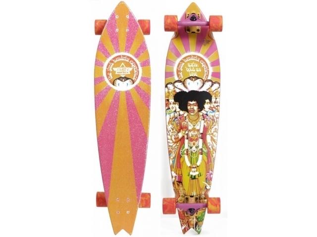 Longboard Dusters Jimi Hendrix Axis Bold Orange/pi