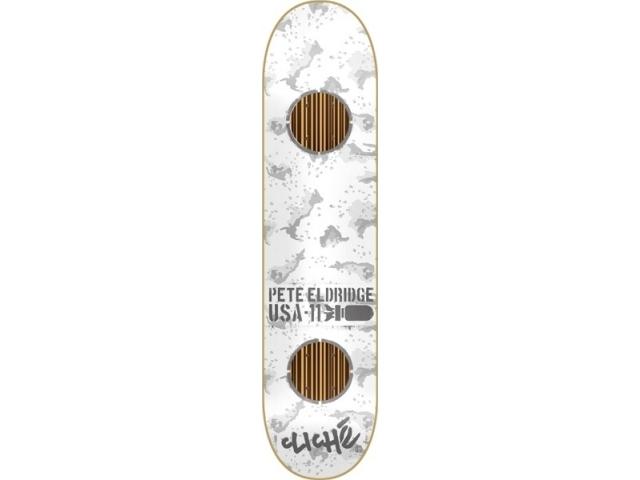 Placa Skate Cliche Eldrige Camo Impact Grey 7.9