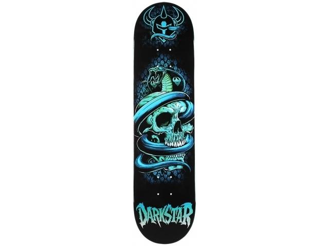 Placa Skate Darkstar Entrance Snake Sl Blue 8.0