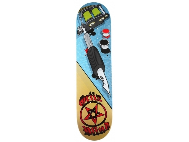 Placa Skate Blind Filipe Oversized R8 8.1