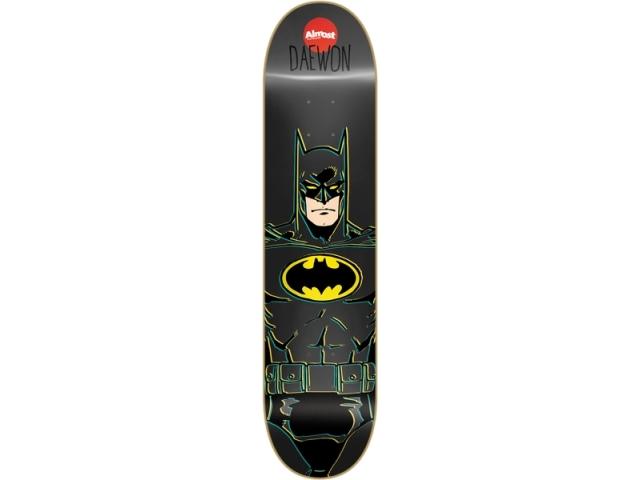 Placa Skate Almost Daewon Batman R7 8.25