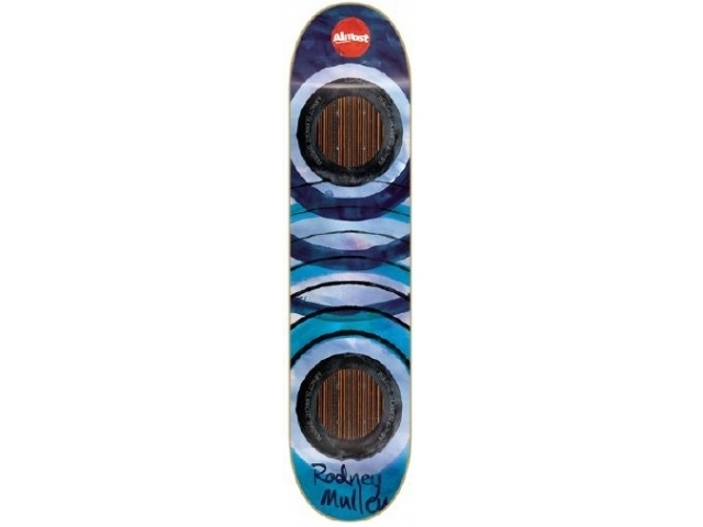 Placa Skate Almost Mullen Water Color Impact 7.6