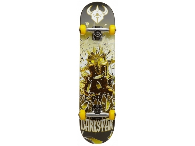 Skate Complet Darkstar Shattered Army/green 7.5