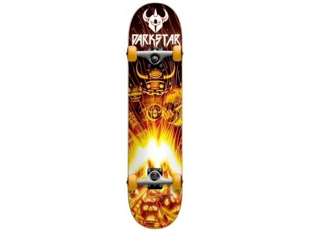 Skate Complet Darkstar Fire Complete Fp Orange 7.6