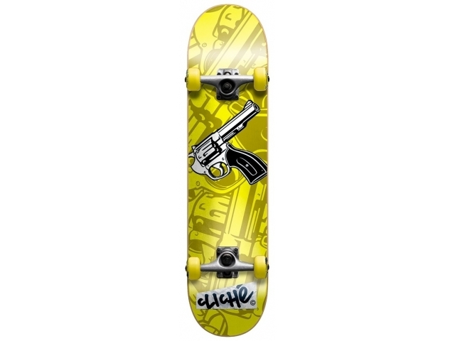 Skate Complet Cliche Gun Yellow 7.5