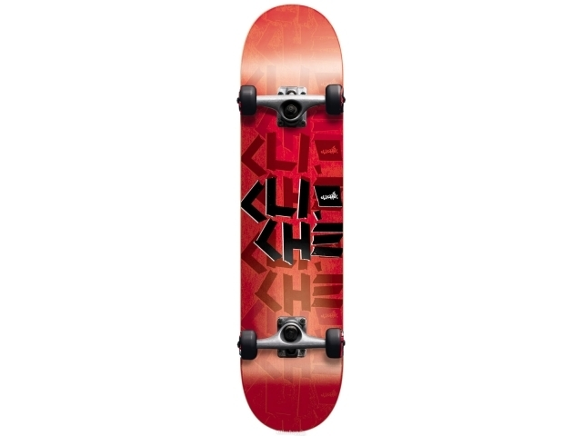 Skate Complet Cliche Scotchtape Red/black 7.9