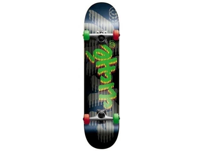 Skate Complet Cliche Rasta Rocket 7.75