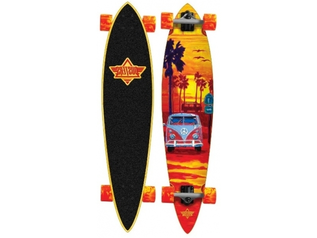 Longboard Dusters Highway One Orange 39