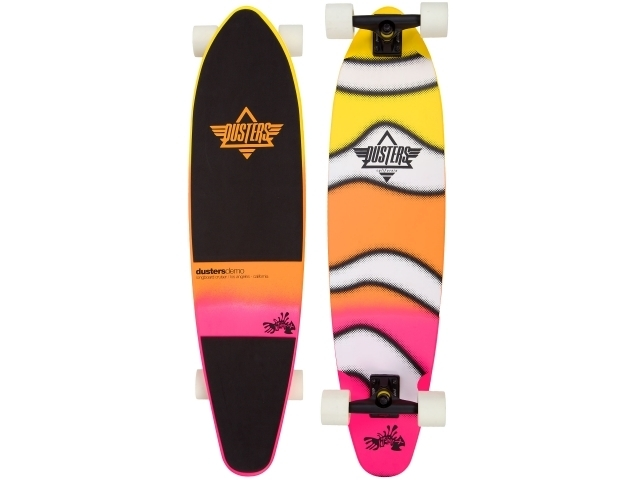 Longboard Dusters Demo Neon Sunset 38