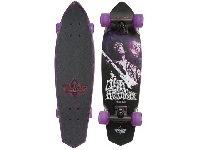 Longboard Dusters Hendrix Purple Haze Cruiser 28