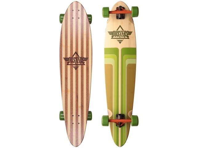 Longboard Dusters Primo Bamboo Cruiser Green 40