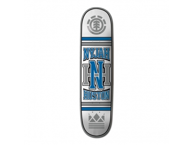 Placa Skate Element Nyjah Huston Monogram 8.0