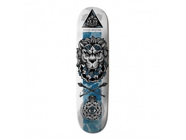 Placa Skate Element Nyjah Huston In Bloom 8.0