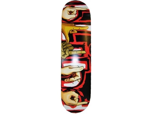 Placa Skate Blind Signs Ss Black/red 7.75