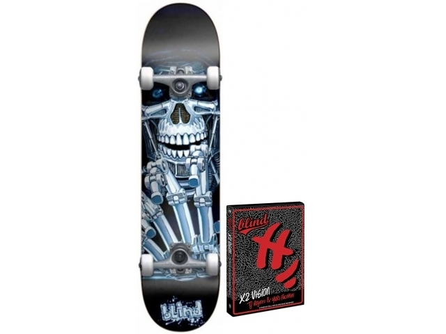 Skate Complet Blind Killing Machine Black/blue 7.6