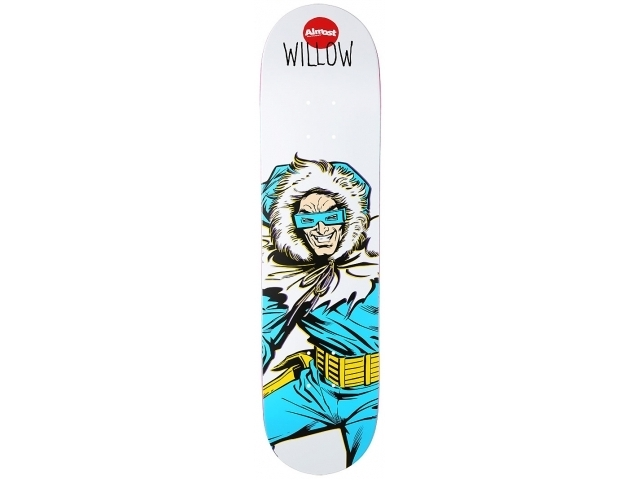 Placa Skate Almost Captain Cold Willow 7.75