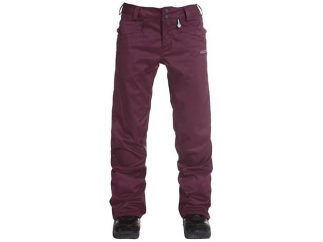 Pantaloni Snowboard Volcom Logic Pant Burgundy