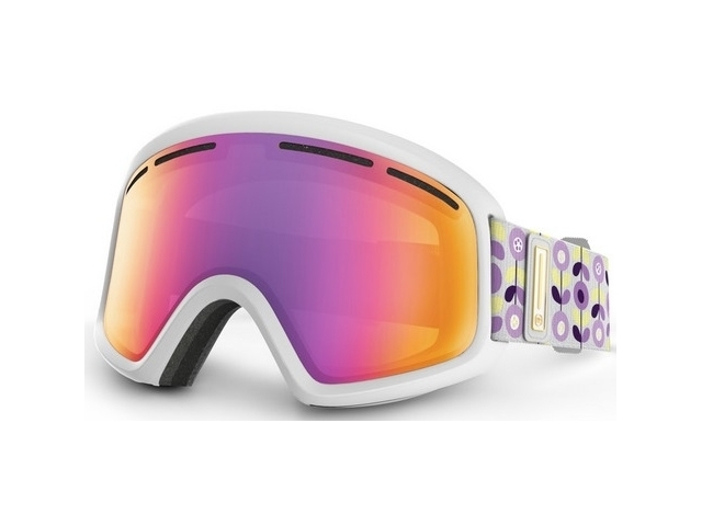 Goggles Von Zipper Trike Wthie Gloss/smoke Pink Chrome