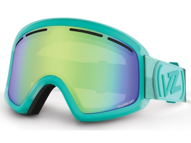 Goggles Von Zipper Trike Brainblast Mint/quasar Chrome